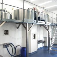Production platform for cosmetics products