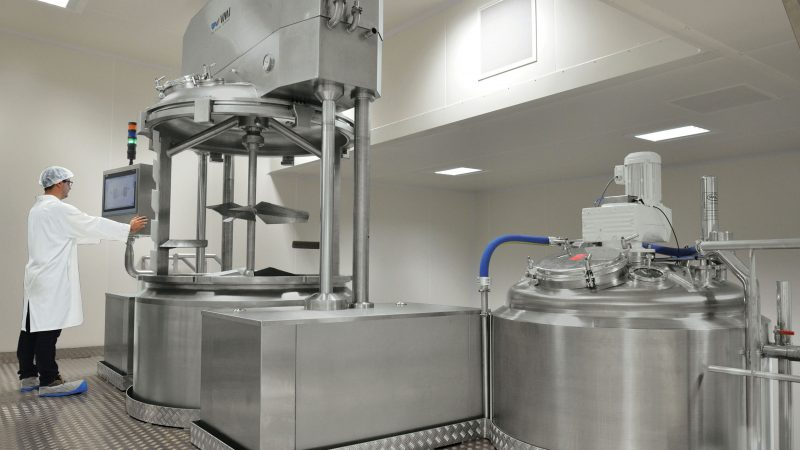 Production platform for pharmaceutical products